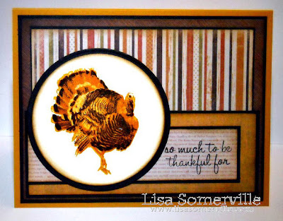 Stamps - Kitchen Sink Stamps Multi Step Turkey Trot