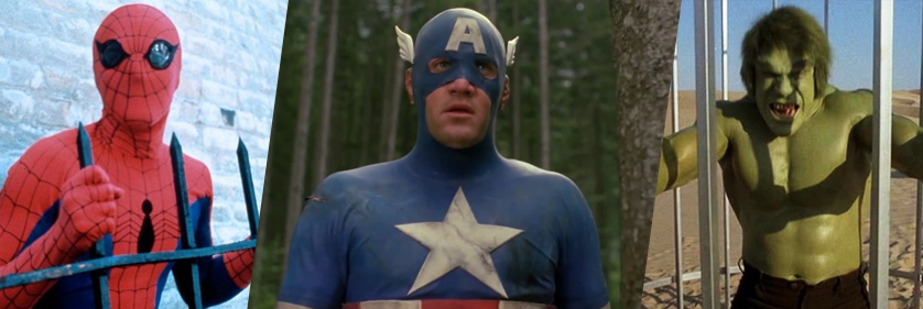 Spiderman, Captain America, & Hulk