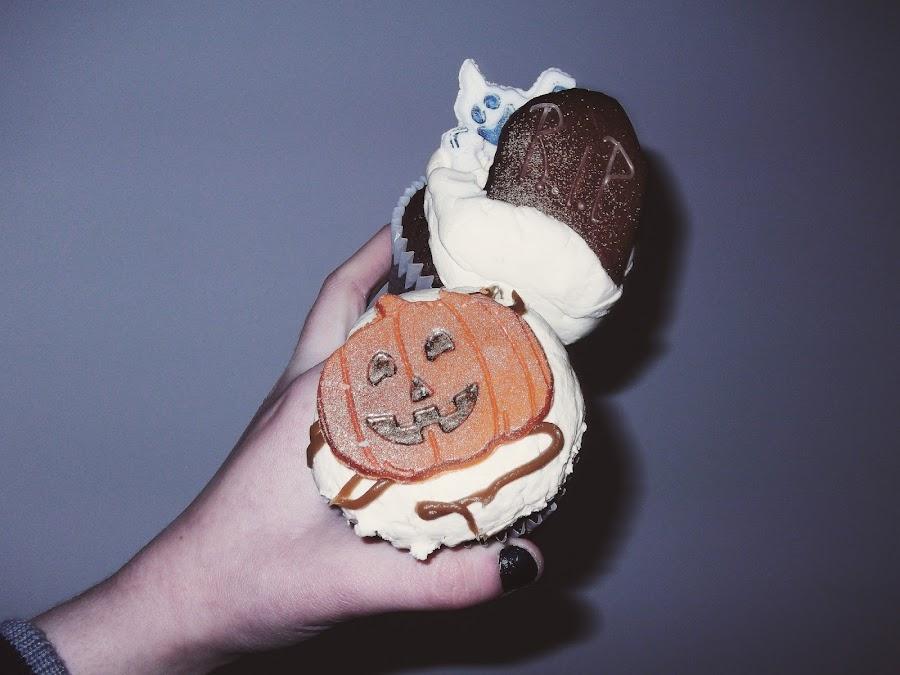 cuthbert's bakehouse, liverpool, halloween cupcakes