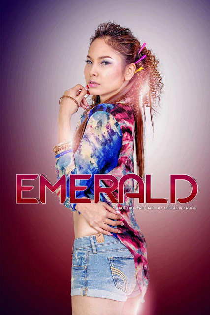Emerald Nyein - Myanmar Model Girls