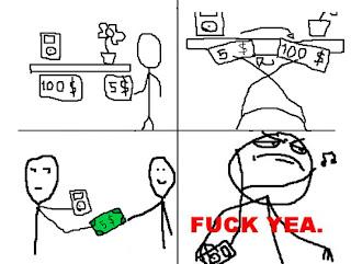 Quadrinhos de Memes sobre Dinheiro