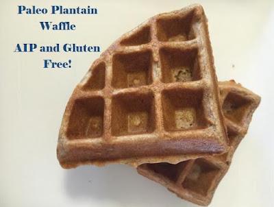 Paleo Plantain Waffle Recipe