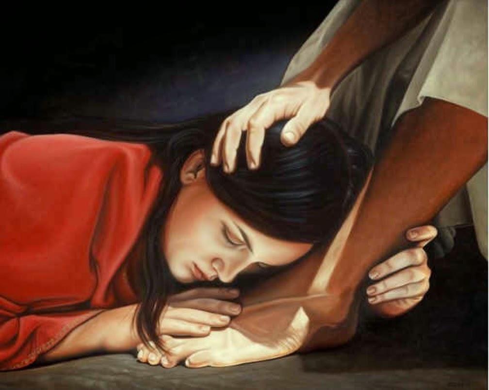 Οι λυγμοί της πόρνης και του πατέρα τα δάκρυα