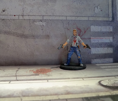 Zombicide Zombie Painting Progress Survivor Josh the Thug