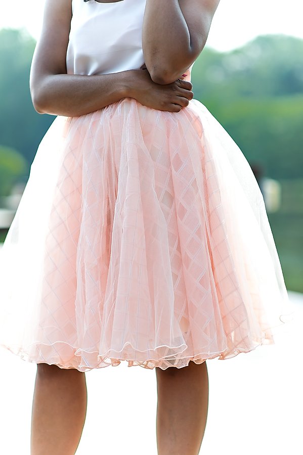 Tutu lace skirt