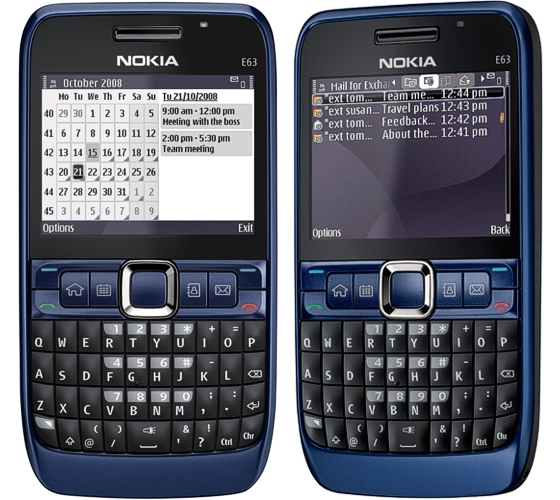 Mobile Mania: Nokia E63 Blue
