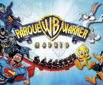 Parque Warner Madrid al 50% de descuento