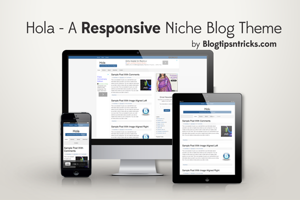 Hola Responsive Blogger Theme Demo