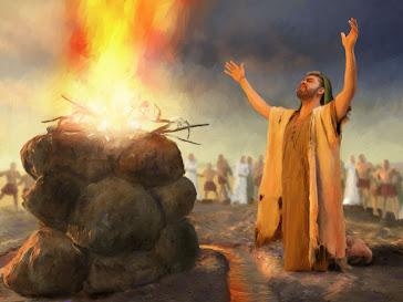 O fogo arderá continuamente sobre o altar e não se apagará. Levítico6.13