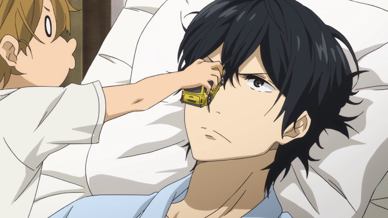 Barakamon series 1 anime tv 2014 naru car seishu hospital