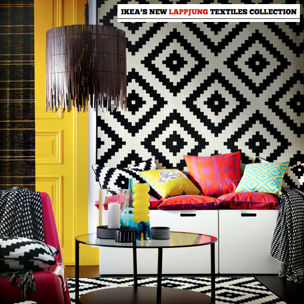 IKEA\'s New Lappljung Textiles Collection - Bright Bazaar by Will ...