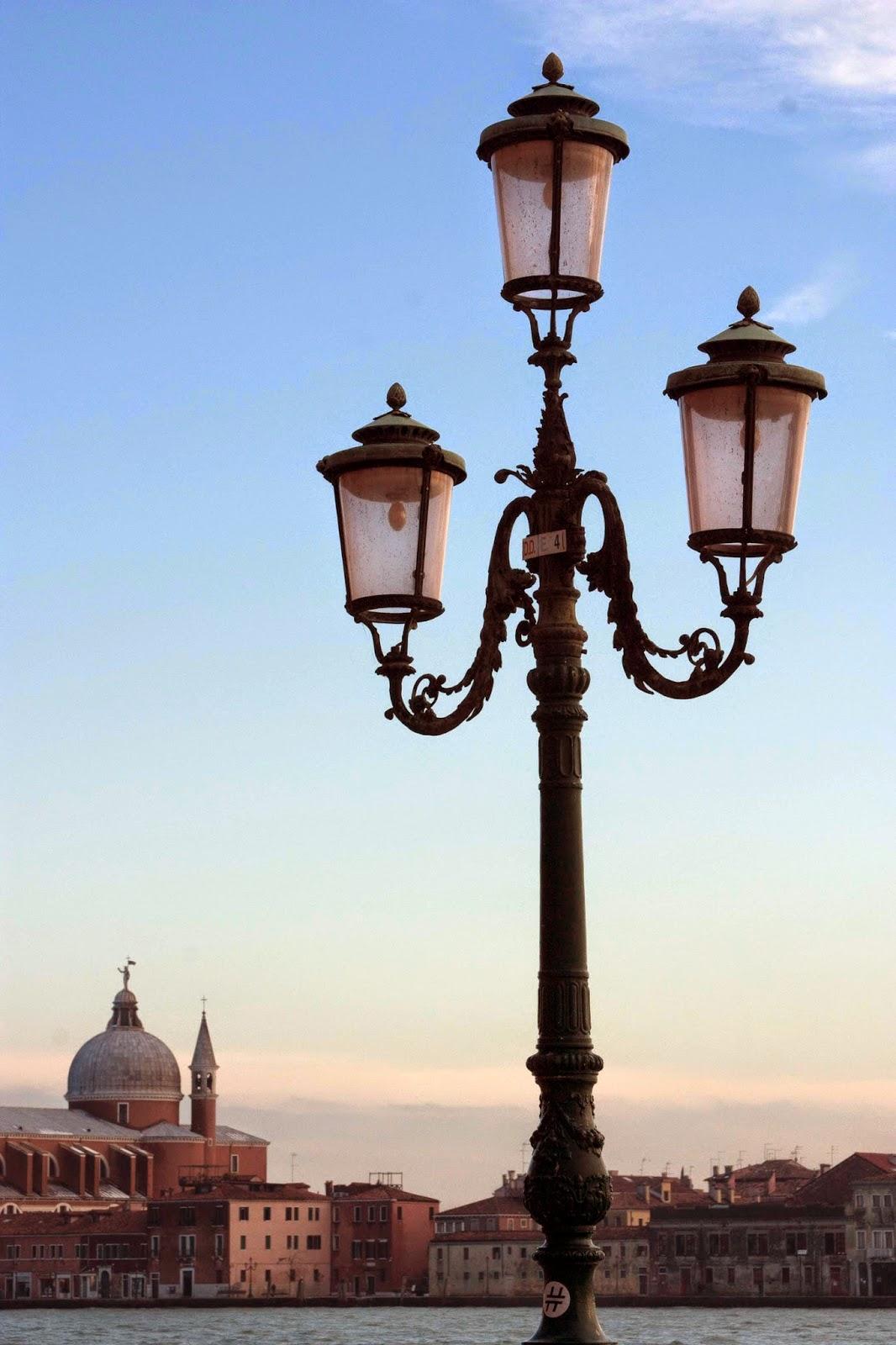 Venice: street lantern