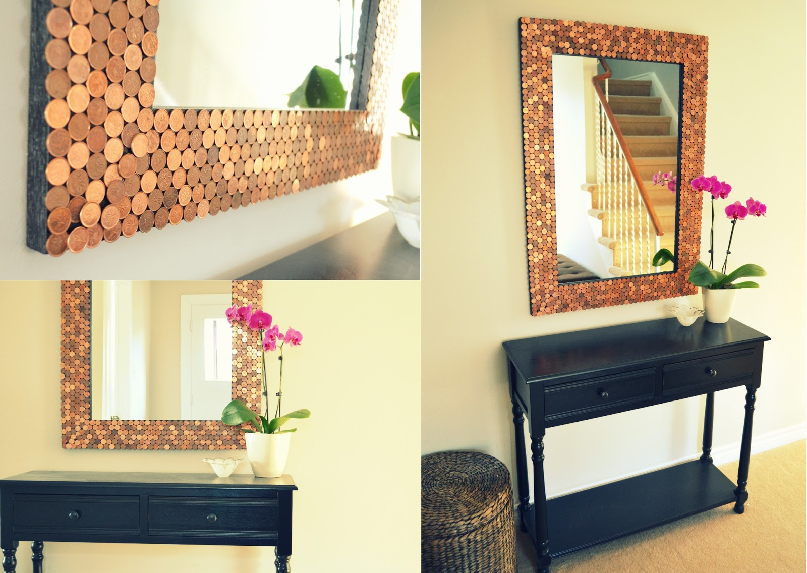 Honey Sweet Home: Penny Tiled Mirror + Recent Features