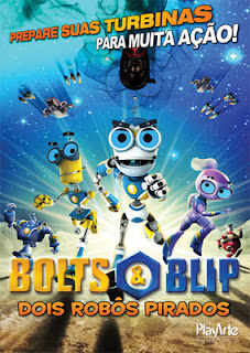 Bolts e Blip: Dois Robôs Pirados - DVDRip Dublado
