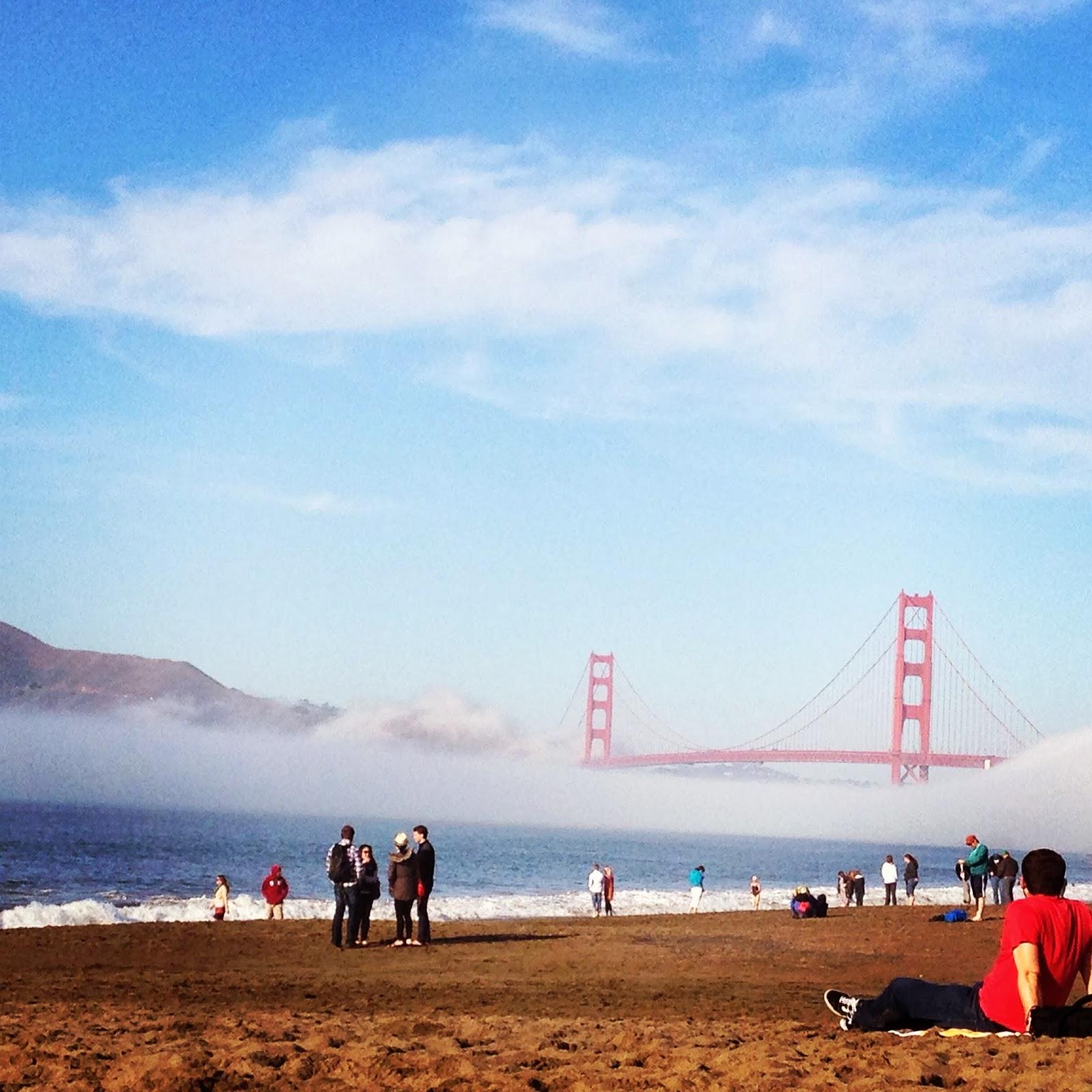 Beach of the Week: Baker Beach, San Francisco | SolEscapes