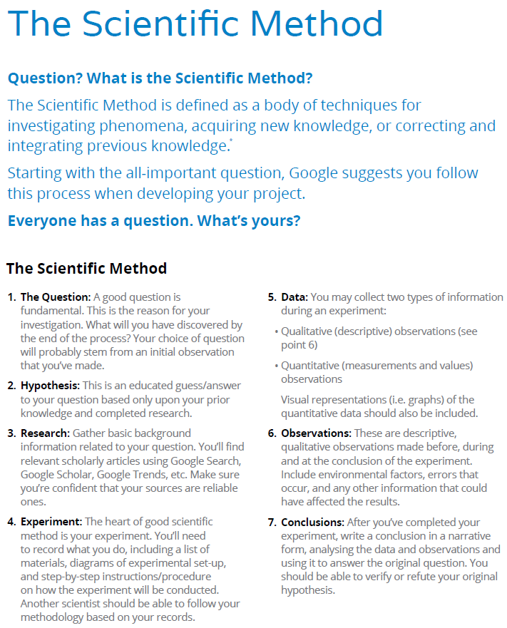 scientific method 11 essay Scientific method is a series of 5 steps that scientists use to do research write up a lab report based on the characters problem/question, hypothesis, materials used in the it should have step-by-step directions for conducting the experiment.