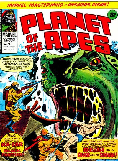 Marvel UK Planet of the Apes #74