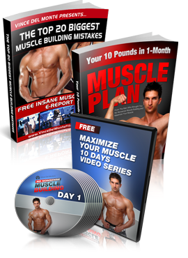 Vince Del Monte's No Nonsense Muscle Building*Gain Real Muscle Results Quicker!