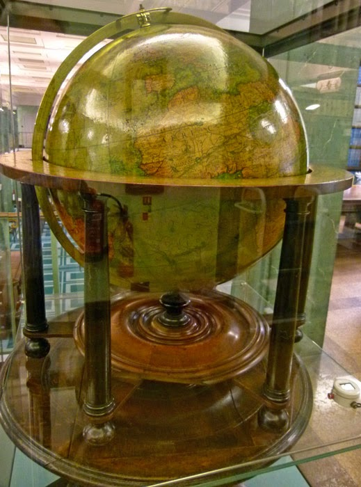 Molyneux Globe, Middle Temple