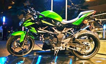 Pilihan Warna Dan Harga Kawasaki Z250SL di Indonesia