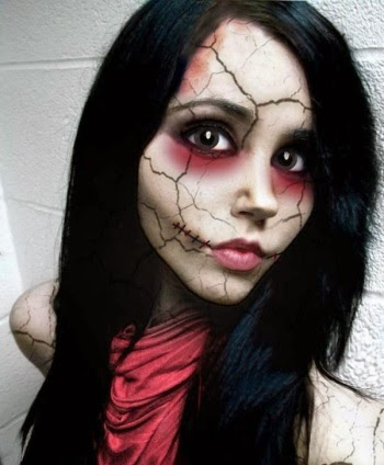 Scary Make Up 2014