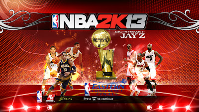 NBA 2K13 Eastern Conference Finals Patch