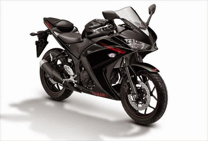 Yamaha R25 Motor Sport Racing dan Kencang Hitam