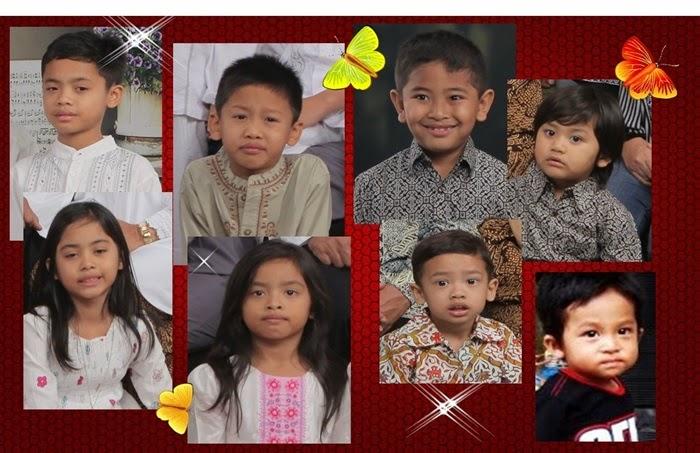 7 bocah muslim plus adik Fachri