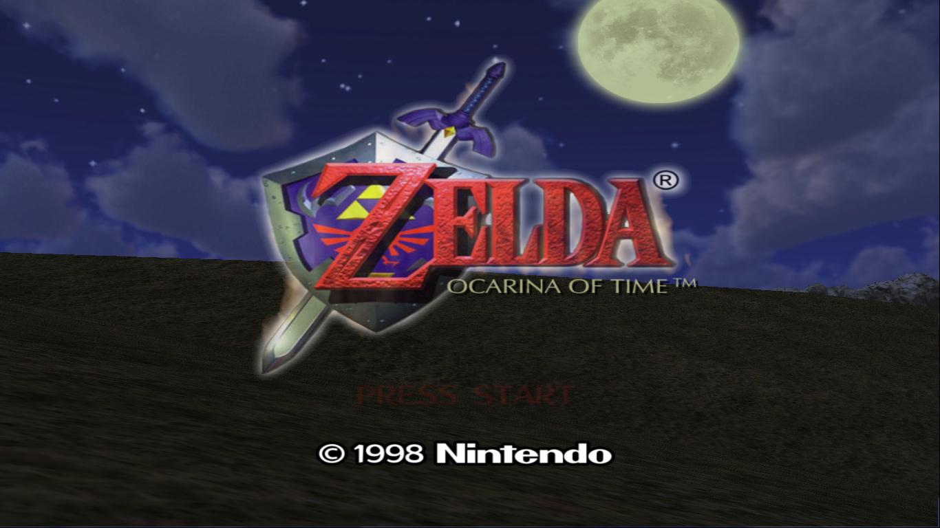[JEU] The legend of Zelda Legend+of+Zelda+-+Ocarina+of+Time+Title+Screen
