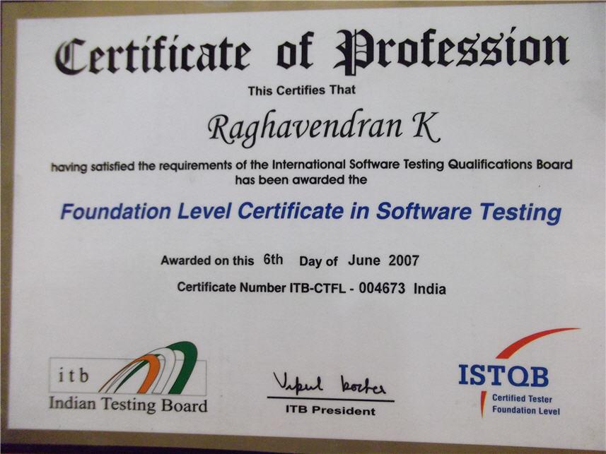 Ragas Blog Istqb Functional Testing Certification