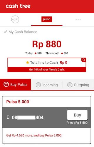 Pulsa Gratis Dari Android Pakai Aplikasi Cashtree