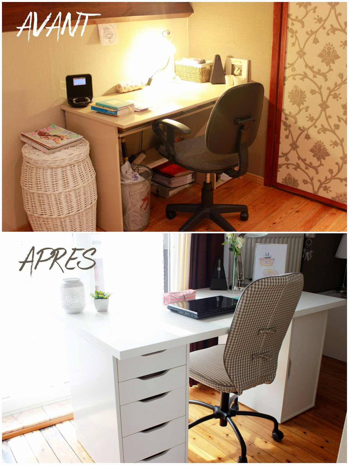 Desk/ Workspace Makeover