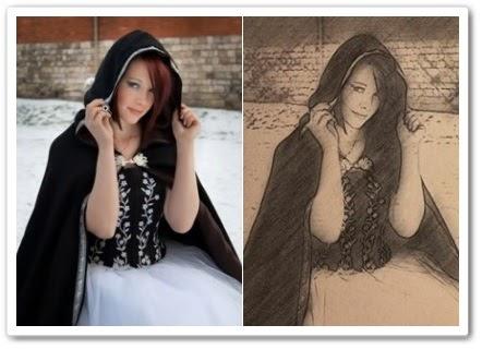 Как преобразовать фотографию в карандашный рисунок в фотошоп