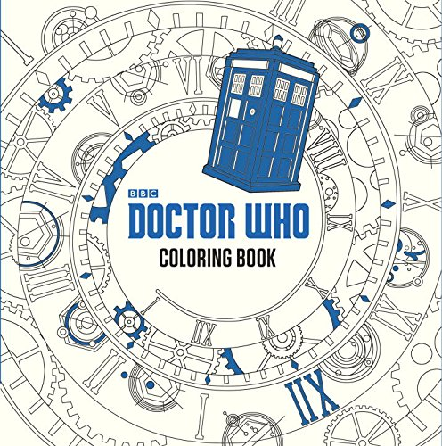 Mystery Playground: Dr. Who Coloring Book
