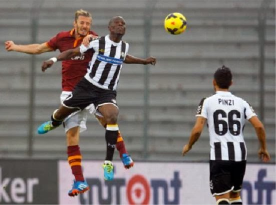 Udinese vs AS Roma 0-1 Serie A Italian