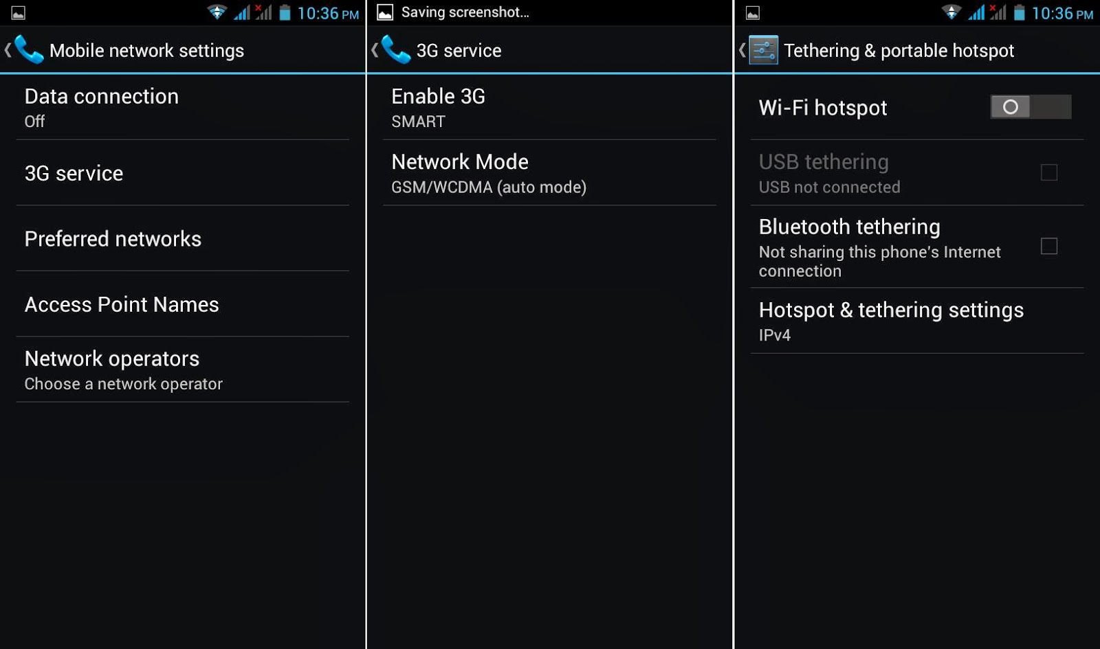 DTC Mobile GT17 Jupiter 3G & Tethering