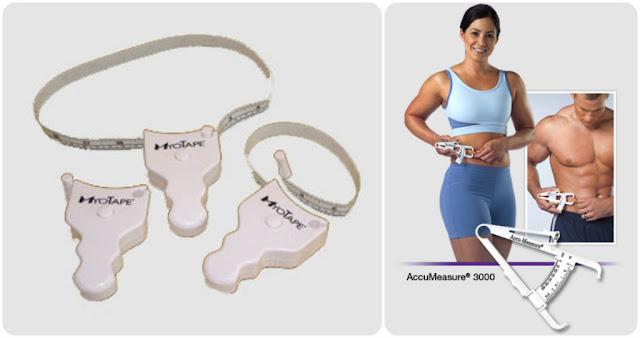 AccuMeasure 3000 Fat Caliper and MyoTape Body Tape Measure