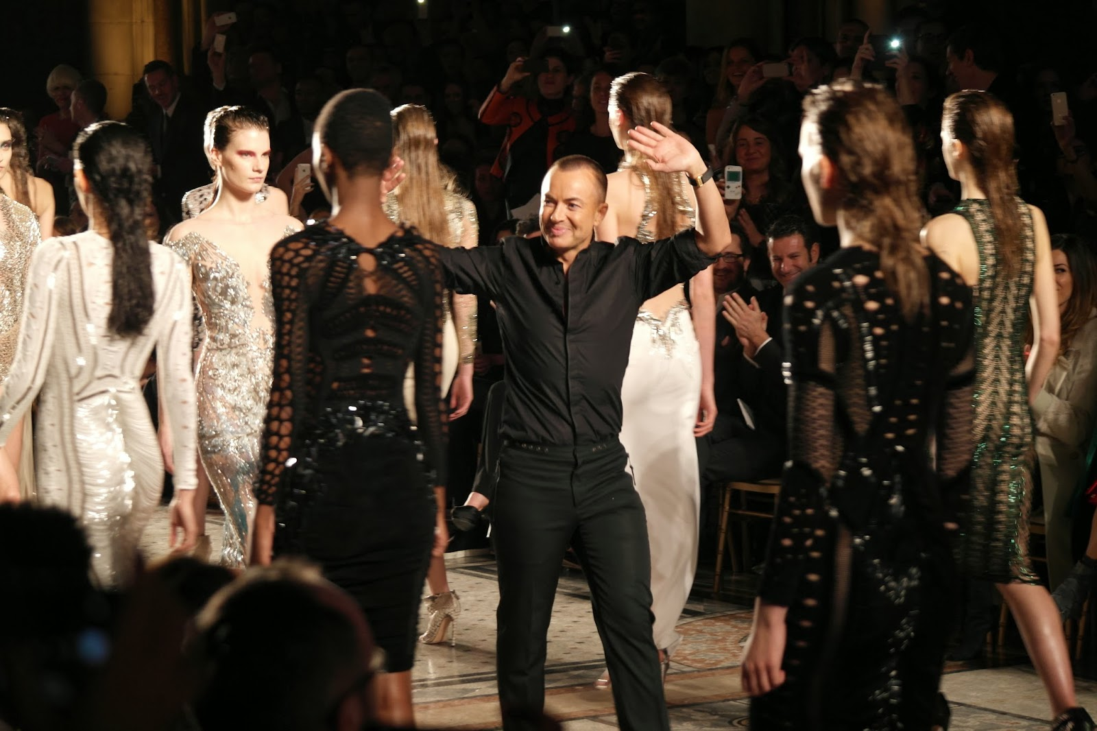 Julien Macdonald Catwalk show