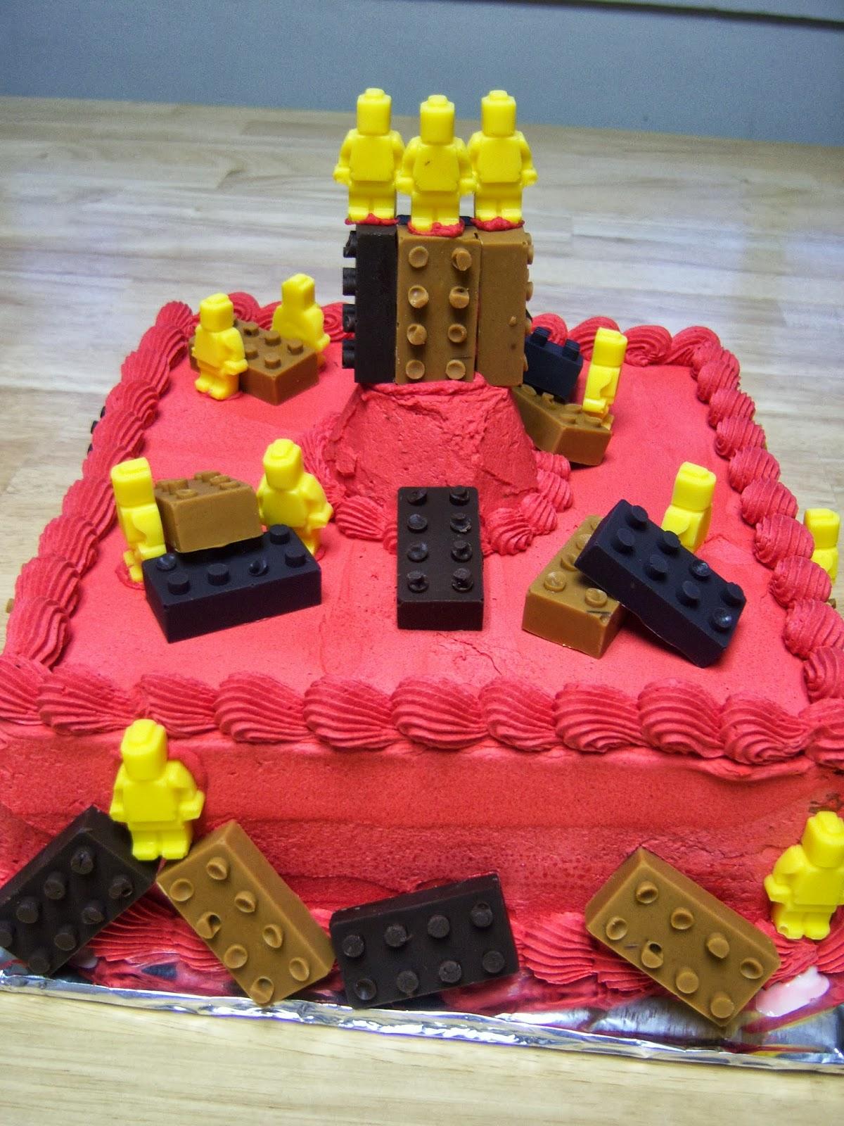 Creative Cakes By Angela Lego Ice Cream Cake