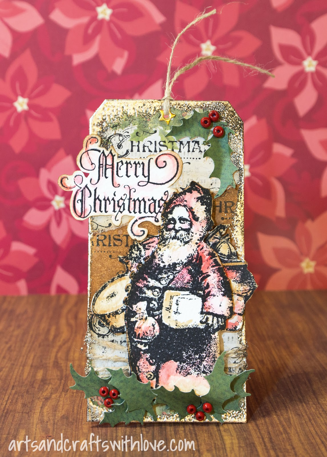 Elina\'s Arts And Crafts: Merry Christmas Tag for December Take It ...