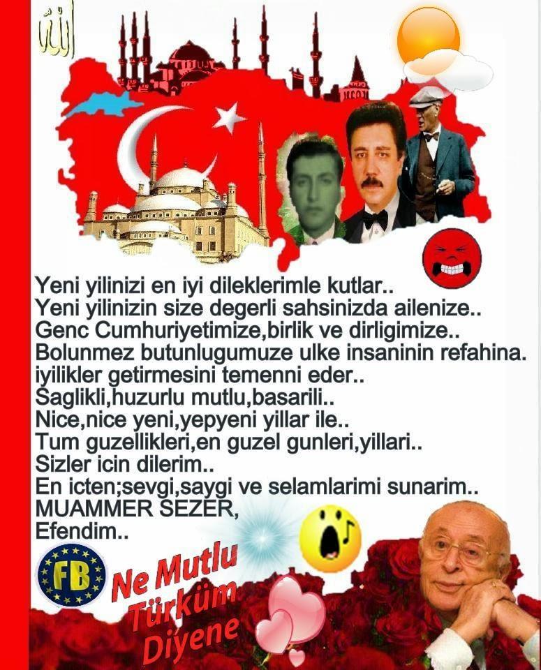 Yeni yılınızı kutlarız (Happy New Year) Buket Turkay secretaryship