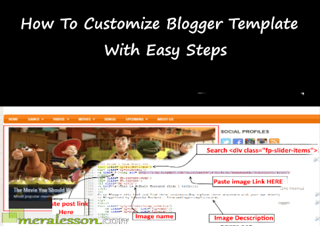 How To Customize Blogger Template With Easy Steps