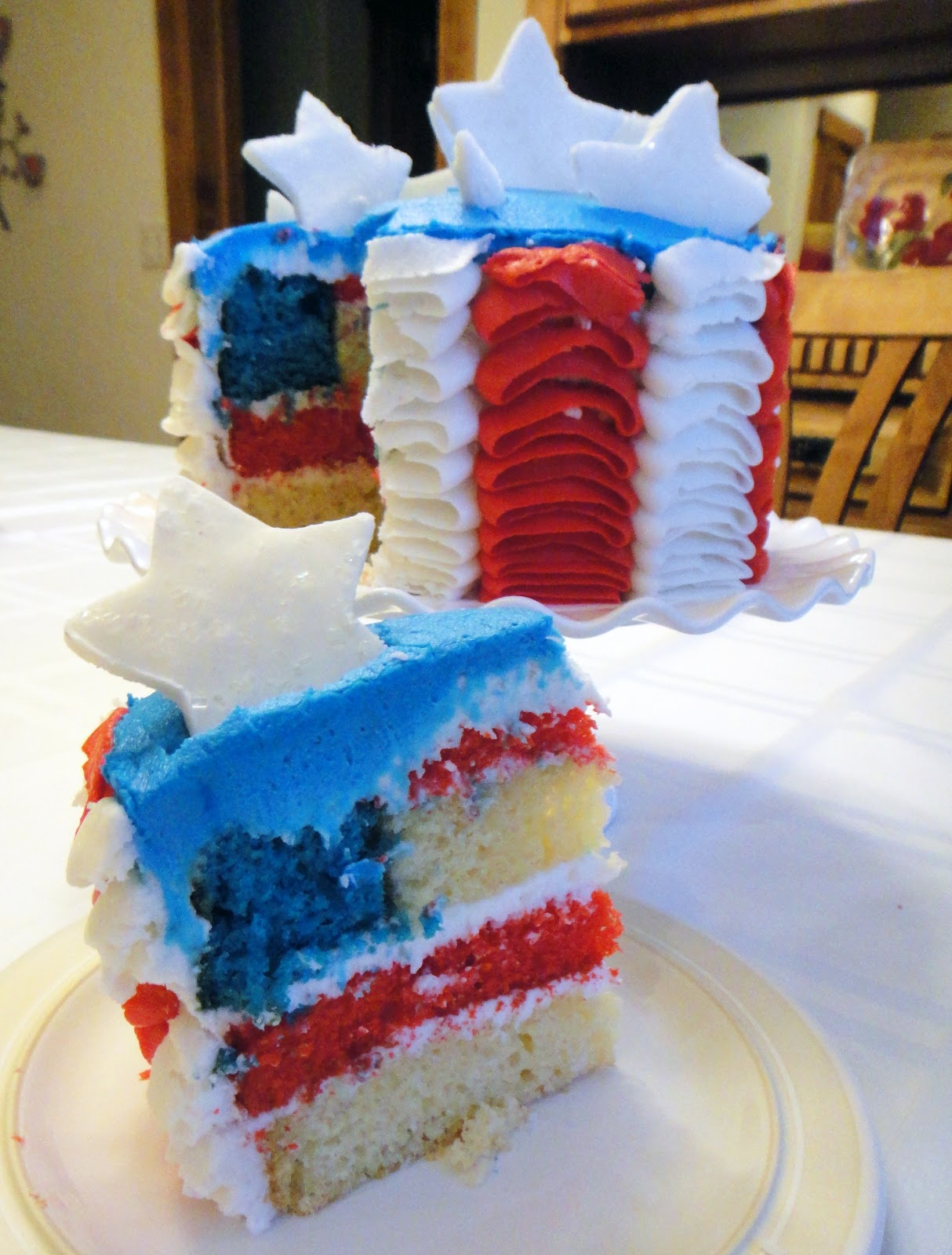 Worth Pinning: 4th of July cake