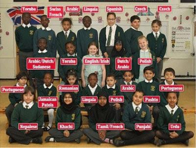 sekolah unik, sekolah terunik, sekolah macam bahasa
