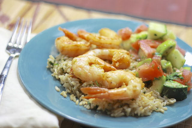 citrus glazed shrimp