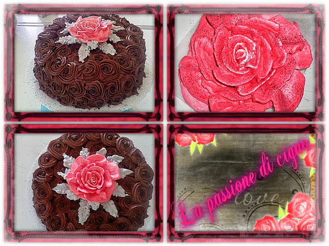 angel violet cake