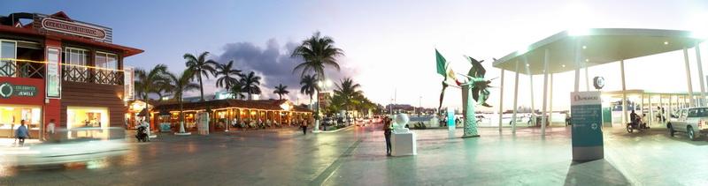 Foto del muelle de Cozumel
