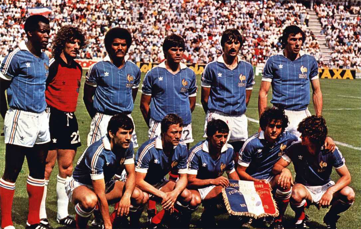 France 1982 the vintage football club - Coupe du monde france allemagne 1982 ...