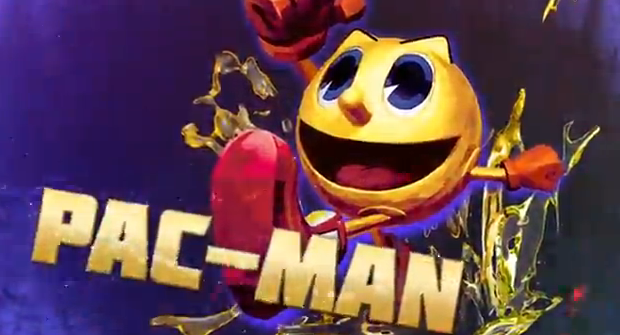 Street Fighte X Tekken 2012 sony exclusive Pac-Man