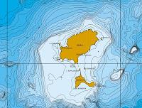 batimetría fondo mar